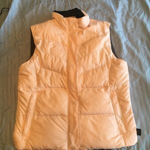 Columbia puffer vest, pale pink, large